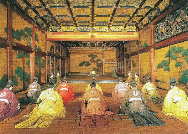 Nijo Castle Kyoto larges castle in Japan, the floors have ...