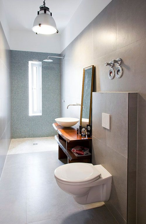 Spa badkamer klein appartement in Berlijn
