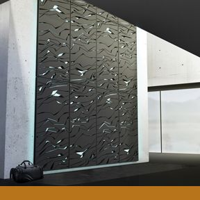 NOVA | Designed to redefine training and physical activity at home, the NOVA personal climbing wall consists of strategic patterns of cut-outs that create integrated climbing holds | Design team: Lunar Europe | IDEA 2013 Bronze