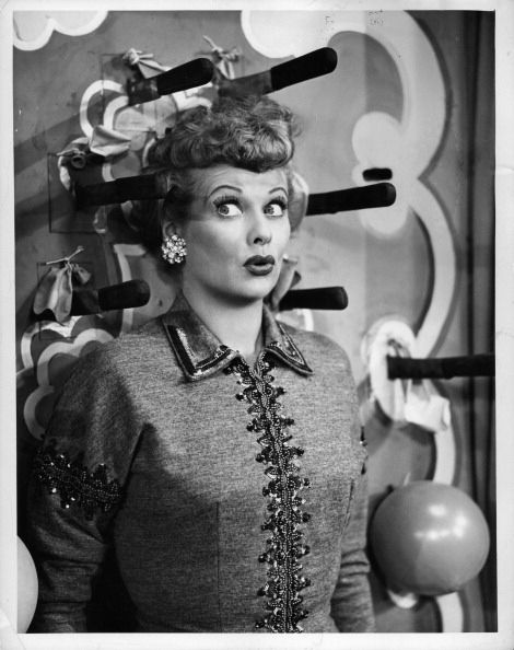 "The first episode of I Love Lucy aired when Lucille Ball was 41. | 24 Interesting Tidbits You May Not Have Known About ""I Love Lucy"""