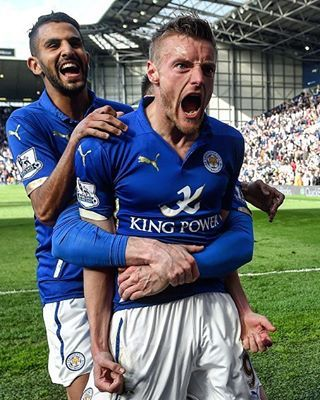 """@uefachampionsleague on Instagram: """" Congratulations  @LCFC, Premier League champions! See you in August for the #UCL group stage draw ... _____________ #leicester #champions #championsleague #lcfc #vardy #mahrez"""""""