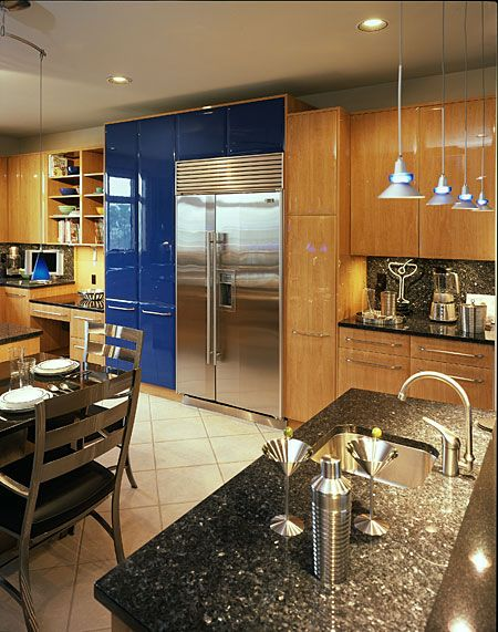 190 best two toned kitchens images on pinterest dream for Kitchen design triangle