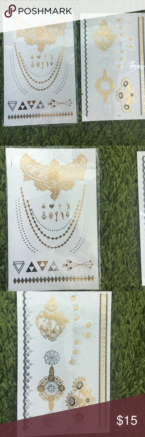 Cochella inspired flash tattoos fake tattoos Na Jewelry Bracelets