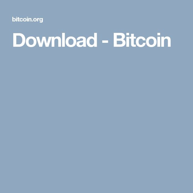 Download - Bitcoin
