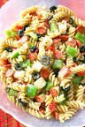 Image result for pasta salad recipes