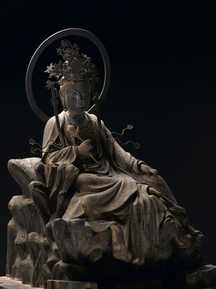 水月観音菩薩坐像 北鎌倉東慶寺