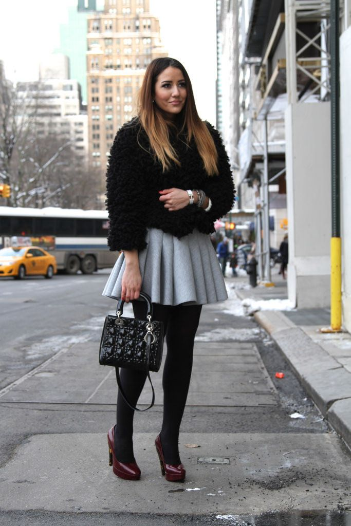 How to style tights by Tamara Stella Kalinic