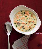 Skotská slavnostní rybí polévka