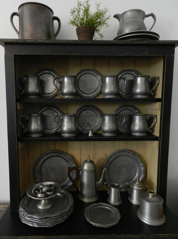 Nice pewter collection. We are currently listing over 20 pieces of vintage pewter from an estate similar to these pieces.