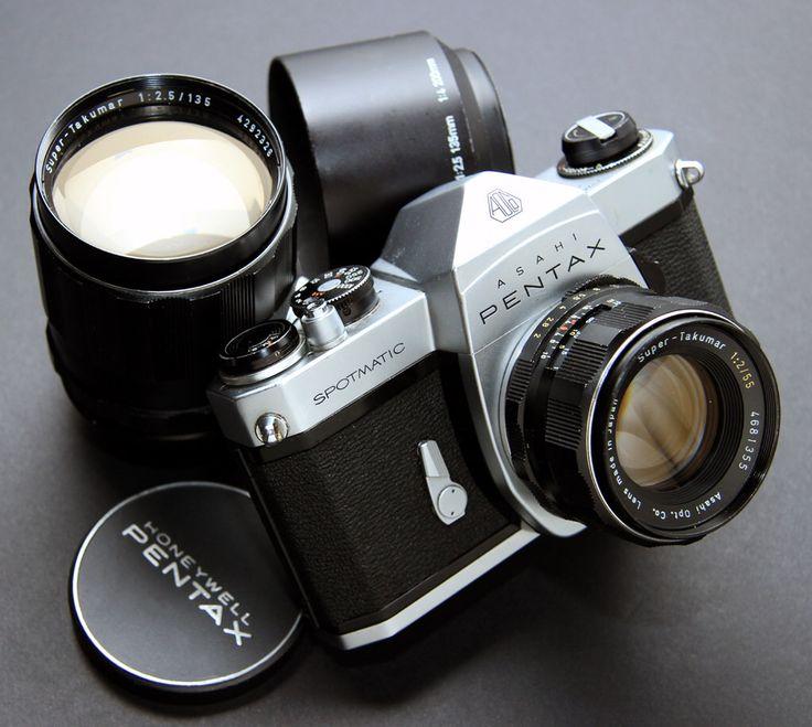 Early Pentax Spotmatic SP SLR - 1965 [EXPLORED]