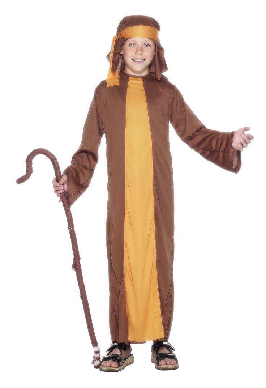 Costume Natale pastore bambino #PresepeVivente #Natale #Natale2016 #VergineMaria #Gesù #CostumeVergine