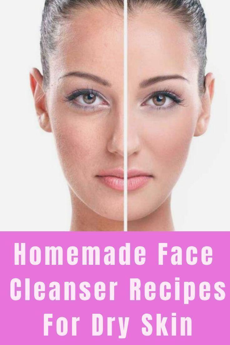 5 hausgemachte Gesichtsreinigungsformeln für trockene Haut … – Skin Care R …..