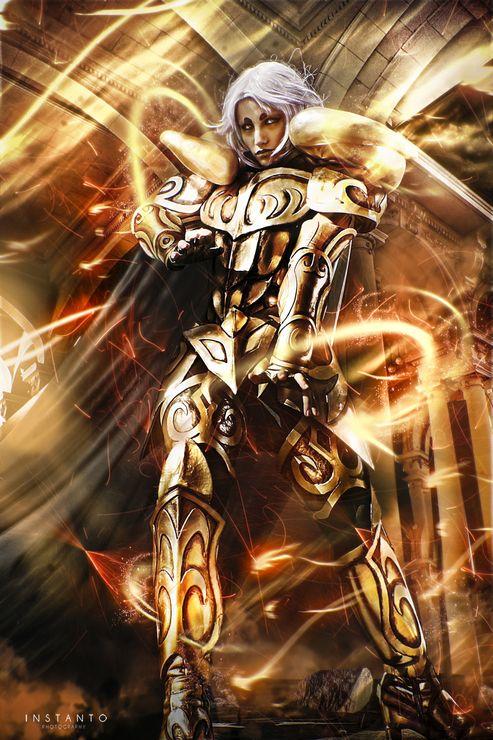 Aries Mu(Saint Seiya)