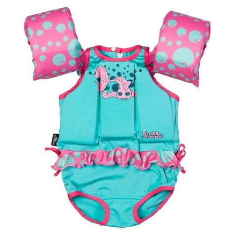 Stearns® Puddle Jumper Suit - Girls Fish