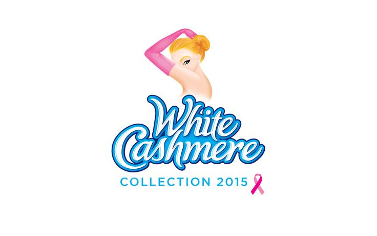 KRUGER | White Cashmere Collection 2015. Logo by Davis.