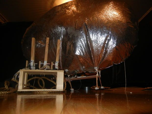 Picture of Arduino-Radio Controlled Hydrogen Blimp