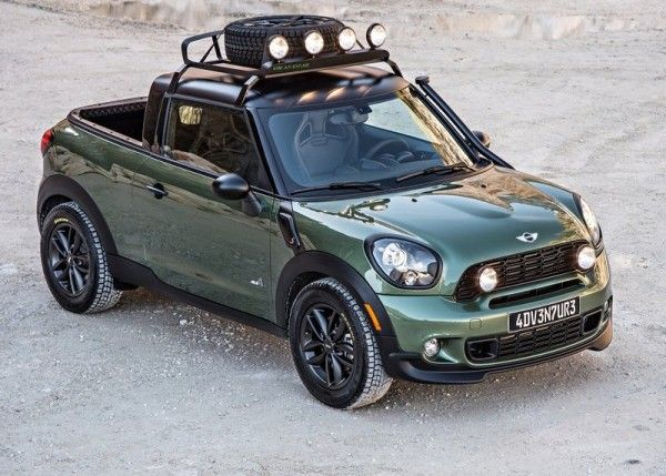 2014 Mini Paceman Adventure is The car man picture