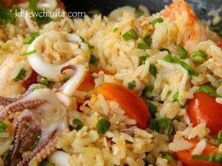 Seafood Fried Rice ( Koa Pad Rom Mid Tala )