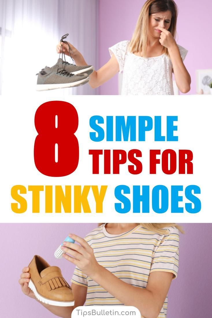 8 Simple Ways To Get Rid Of Smelly Shoes