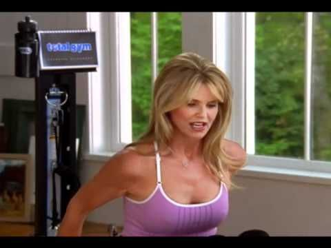 Christie Brinkley Total Gym Pilates - YouTube
