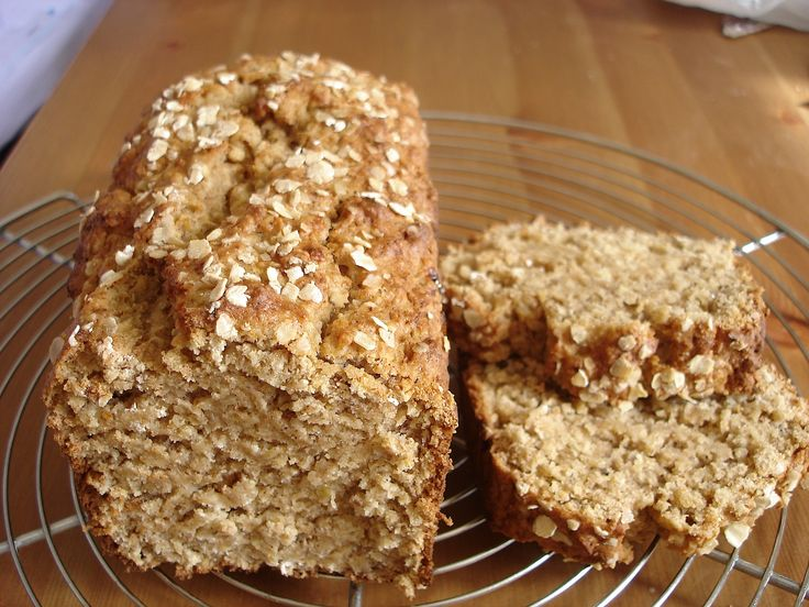What do you do with overripe or black bananas?? How about try this awesome OATMEAL BANANA BREAD!!! Get more healthy recipes by signing up for our FREE newsletter - get the details here -->> https://www.facebook.com/TeamHealthyYou.fanpage/app_204411686326116