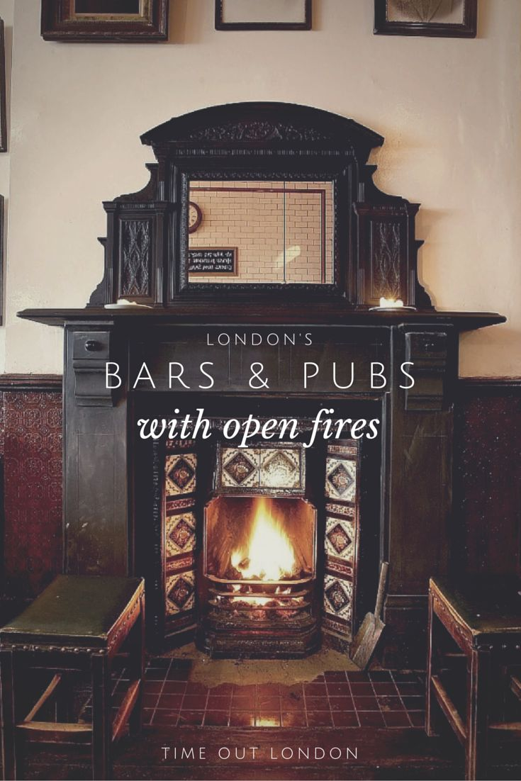 Snuggle up with a pint at one of these London pubs and bars with fires.