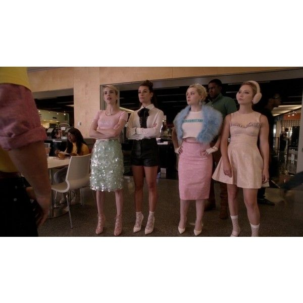 Episode 4 - Scream Queens 2015 S01E04 Haunted House 1080p... ❤ liked on Polyvore featuring scream queens