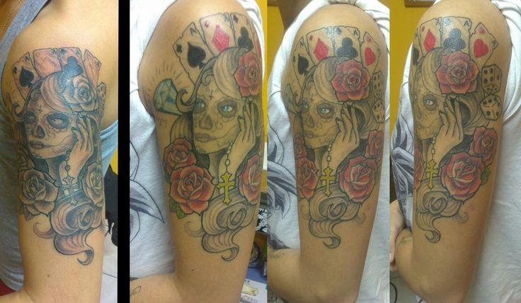 40 best images about tatouages filou couleur on pinterest - Tatouage fleur couleur ...