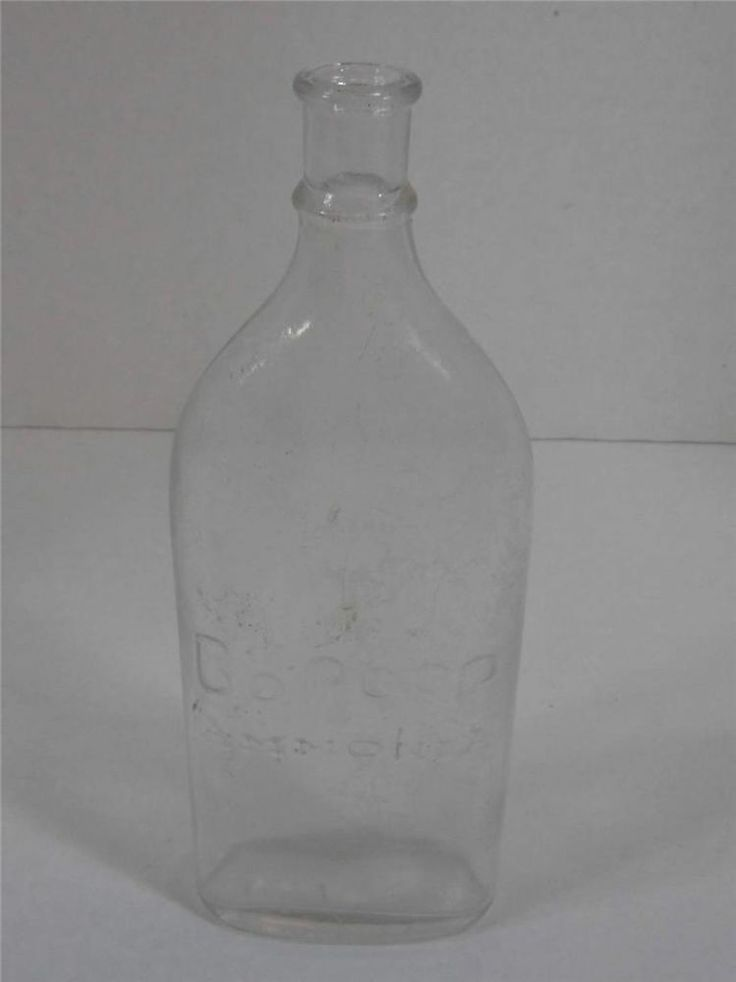 Little Bo Peep Ammonia Bottle Vintage Clear Glass With ...