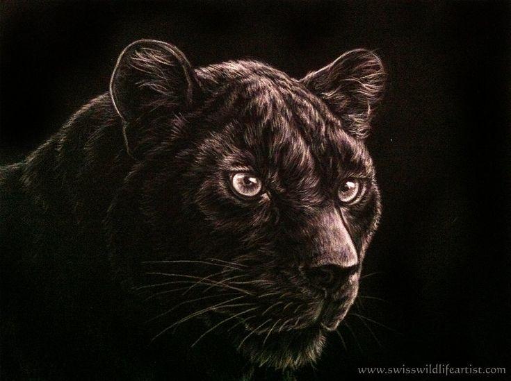 Black Panther By Bisanti Deviantart Com On Deviantart