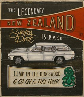 New Zealand Art Print News: Jason Kelly's Kiwiana art print series