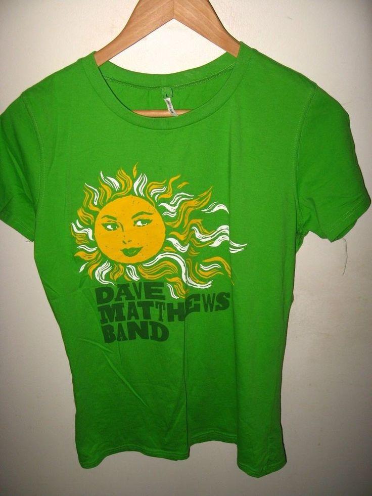 Dave Matthews Band Tee - Sunshine Rock & Roll Concert Album Women't T Shirt Lrg