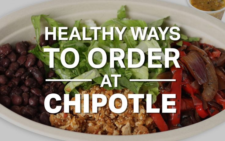 Healthy Ways to Order at Chipotle http://ift.tt/2w2g6Ca  Even if youre not a huge taco or burrito lover youve probably stopped at Chipotle a time or two. The chain has more than 2000 locations and is known to focus on real ingredients without added colors flavors preservatives or GMOs. Its also well-known for making burritos bigger than your face.  Since you build your own meal at Chipotle its easy to load up your burrito and set yourself back over 1000 calories without realizing it. But…