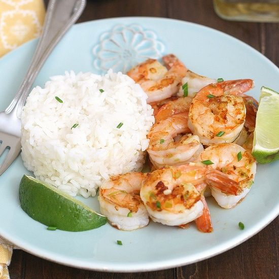 Tequila-Orange Grilled Shrimp by traceysculinaryadventures