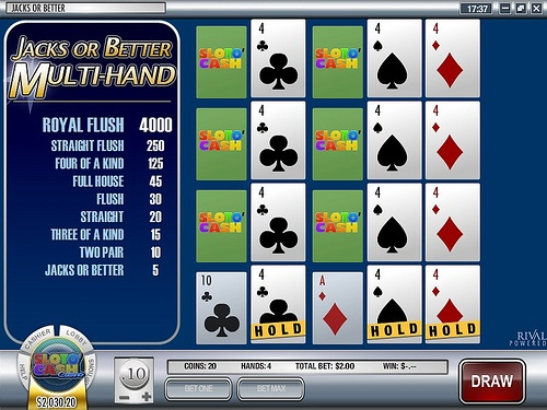4 Jacks or Better Video Poker-...    http://www.video-poker-online.org/