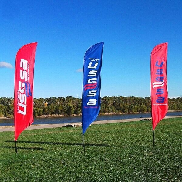 promo feather flags
