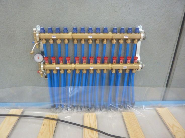 La centrale che guida le prestazioni del parquet con riscaldamento radiante