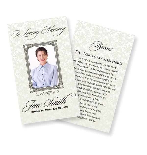 funeral prayer cards examples, funeral prayer cards online