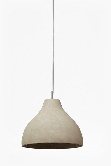 Large Concrete Pendant Ceiling Light
