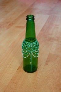 Beaded Bottle - Everyday wonders - Louise S.A. Allen