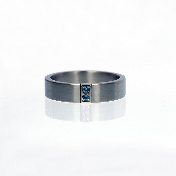 Custom wedding ring set, choose your own gemstones from huge collection by TorkkeliJewellery, $690.00