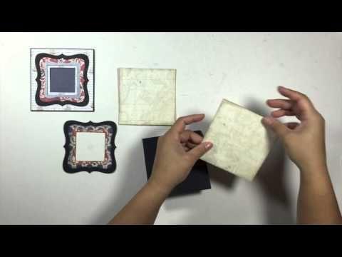 "Prima ""Stationer's Desk"" Mini Album- SOLD - YouTube"