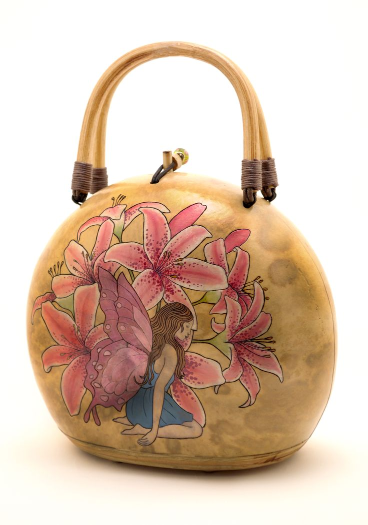 Fairy Gourd Purse by Christine Chan