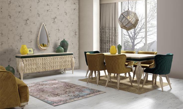 Nirvana Yemek Odası Takımı Tarz Mobilya   Evinizin Yeni Tarzı '' O '' www.tarzmobilya.com ☎ 0216 443 0 445 📱Whatsapp:+90 532 722 47 57 #yemekodası #yemekodasi #tarz #tarzmobilya #mobilya #mobilyatarz #furniture #interior #home #ev #dekorasyon #şık #işlevsel #sağlam #tasarım #konforlu #livingroom #salon #dizayn #modern #rahat #konsol #follow #interior #armchair #klasik #modern