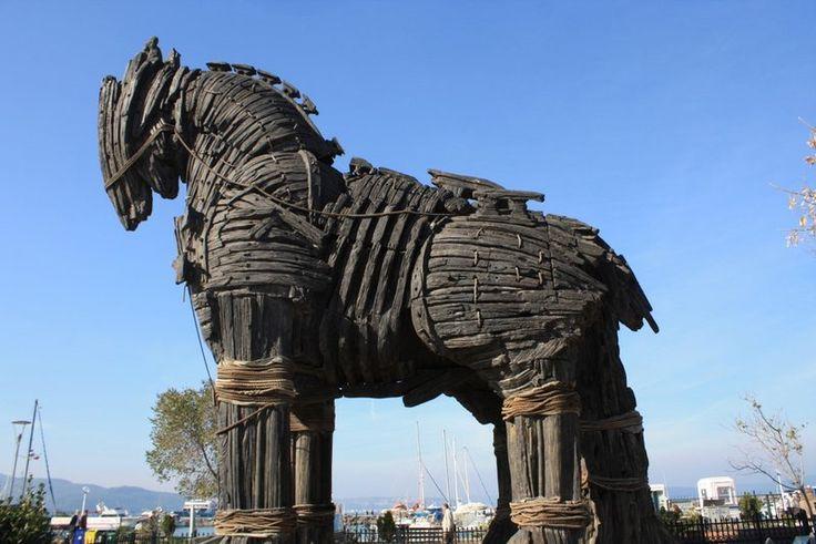 Troya, Çanakkale, Turkey: Horses, Horse Reconstruction, Movie