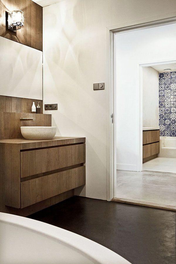 36 best Hout in de badkamer images on Pinterest | Bathrooms ...