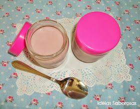 Ideias Saborosas: Iogurtes de Amora Silvestre