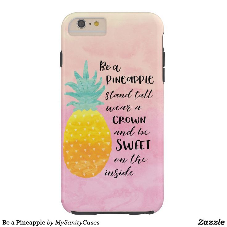 Be a Pineapple Tough iPhone 6 Plus Case