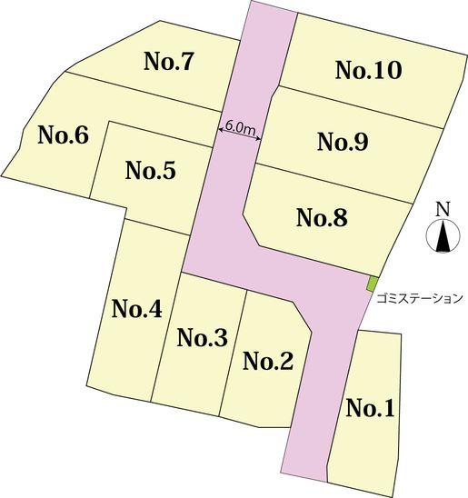 セルリアンヒルズ 中島 - 宅地開発プロジェクト紹介 - 株式会社トーシン住宅