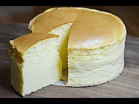 Japanese cotton cheesecake (Uncle Tetsu mimic) recipe- 4 Mins or Less Recipes - YouTube